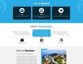 Nro 74 kilpailuun Need a Home Page Design for My Healing Website käyttäjältä jitp