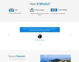 Nro 51 kilpailuun Need a Home Page Design for My Healing Website käyttäjältä mdyounusali465