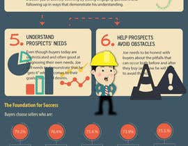 #1 for Infographic about Social Selling Skills & Process: Flat Design by shahirnana