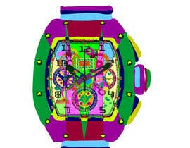 #17 cho POP ART Colourful Detailed Watch Needed bởi nonie26
