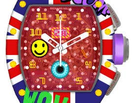 #9 para POP ART Colourful Detailed Watch Needed por Millia91