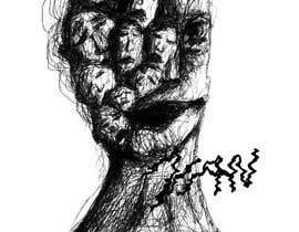 #28 untuk Scribbled dark art oleh Vanxmad