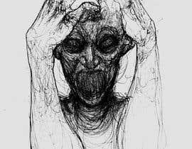 #32 untuk Scribbled dark art oleh diegomedvi