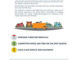 nº 12 pour Design a Flyer for Furniture Removals Company par rahmounanas
