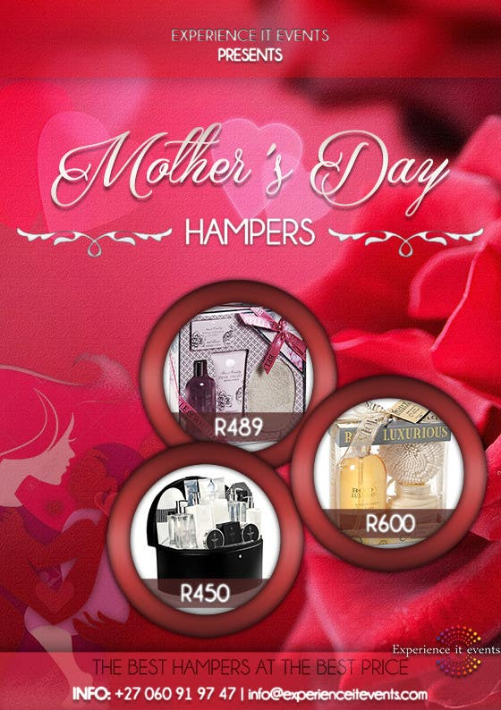 Contest Entry #10 for Design a Flyer for mother's day