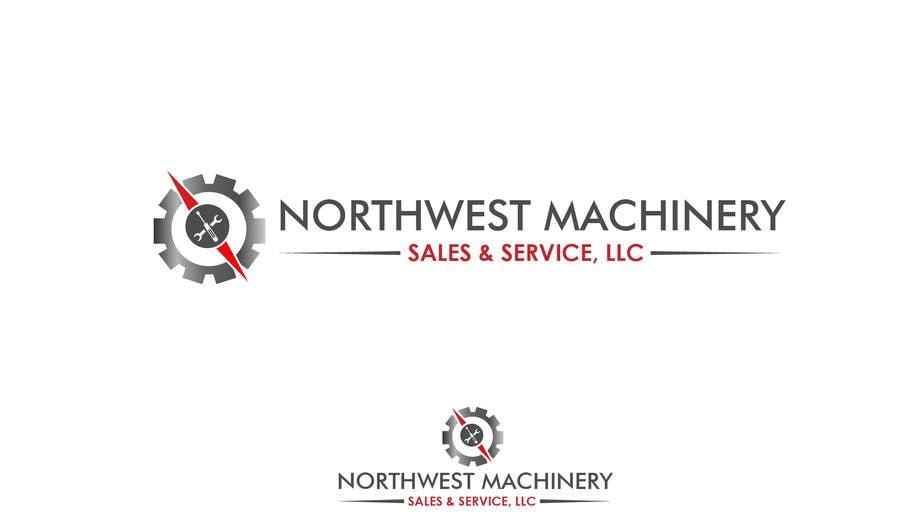 Konkurrenceindlæg #                                        8                                      for                                         Design a Logo for Northwest Machinery Sales & Service, LLC