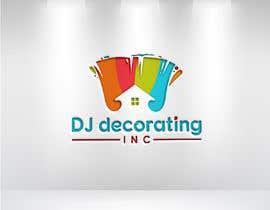 #195 for Painting Company LOGO - DJ Decorating af jesmin579559