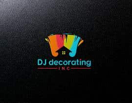 #196 for Painting Company LOGO - DJ Decorating af jesmin579559