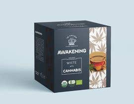 #130 for CANNABIS -TEA BOXES PACKAGING DESIGN by expresooodesigne