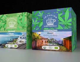 #128 for CANNABIS -TEA BOXES PACKAGING DESIGN by AliSaad2020