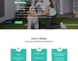 Nro 31 kilpailuun New beautiful home page (modern/clean) for marketing agency käyttäjältä Sandaruwan93