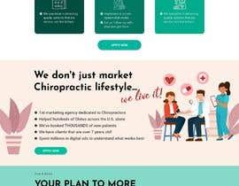 Nro 19 kilpailuun New beautiful home page (modern/clean) for marketing agency käyttäjältä Zahid1048