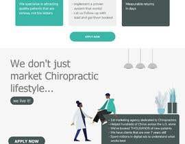 Nro 17 kilpailuun New beautiful home page (modern/clean) for marketing agency käyttäjältä rajaumeda123