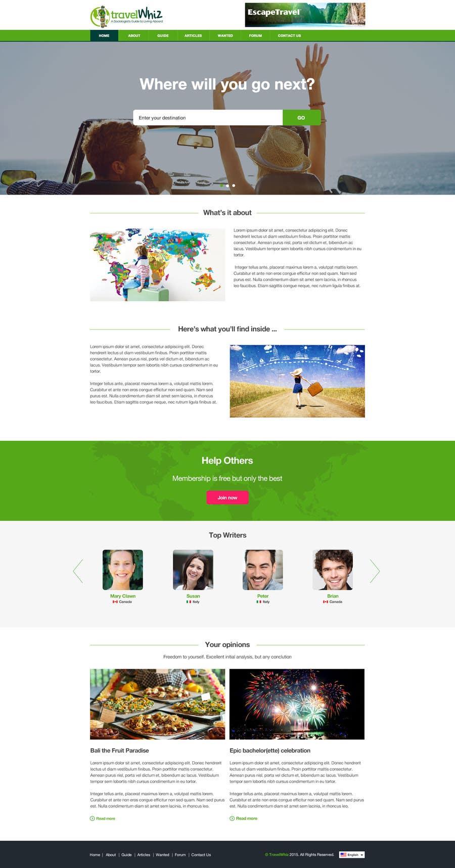 Konkurrenceindlæg #                                        16                                      for                                         Design a Website Mockup for TW