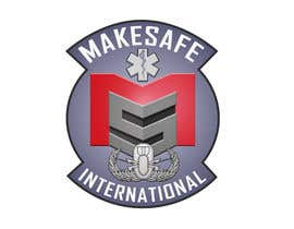 nº 29 pour MakeSafe International Non Profit Casualty Extraction and Explosive Ordnance Disposal service logo contest par fingerburns