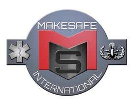 #39 untuk MakeSafe International Non Profit Casualty Extraction and Explosive Ordnance Disposal service logo contest oleh Helen2386