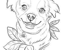 #42 for Draw an outline of my dog af valdiansyahraka