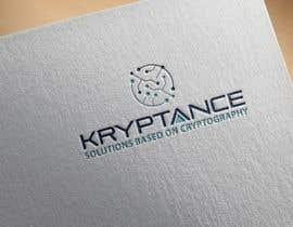 nº 1047 pour kryptance company logo par naveedahm09