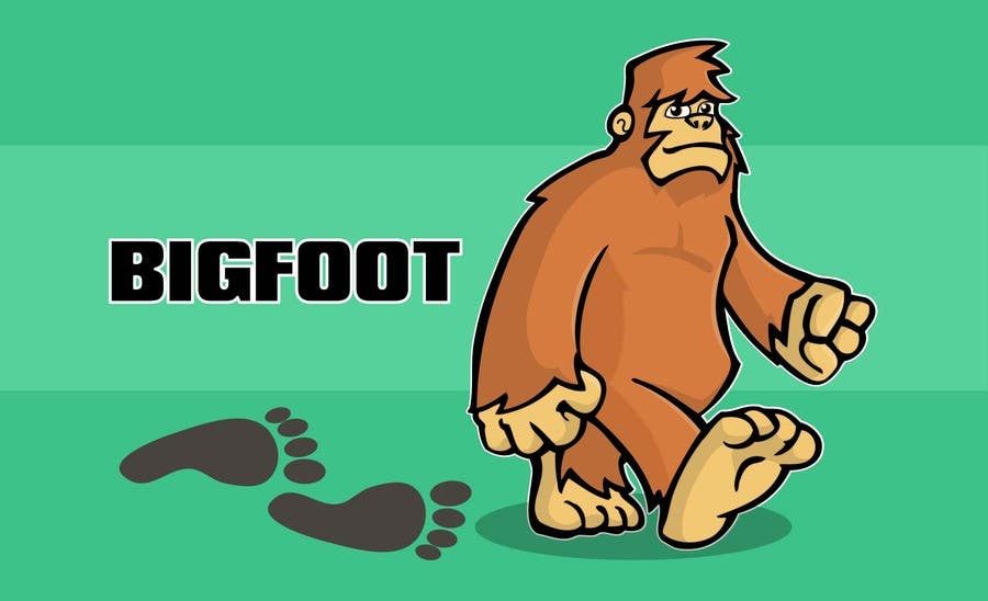Contest Entry #                                        33                                      for                                         Bigfoot (USA)