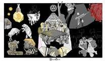 """Photoshop Intrarea #23 pentru concursul """"Spin on Picasso's Guernica"""""""