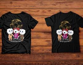 skhawathosensk tarafından Looking for a T-shirt design using company mascots için no 123