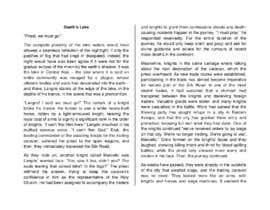 Nro 32 kilpailuun Write a short story set at the years of the Black Death pandemic käyttäjältä xaverubio
