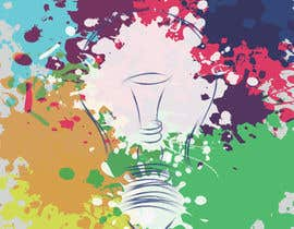 #24 for Design an light bulb in an abstract modern hand drawing style by iabdullahzb