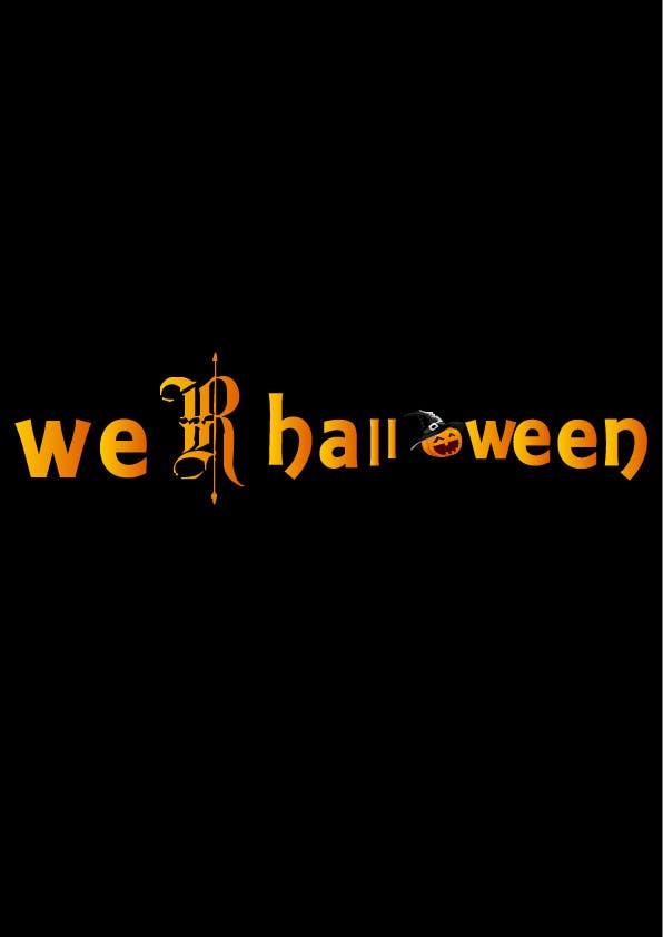 Penyertaan Peraduan #22 untuk design halloween logo