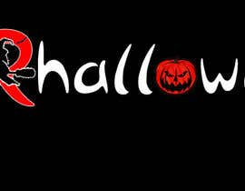 Typography halloween logo design Vector  Free Download