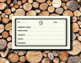 #111 cho I need a simple template for a mineral label which is like a business card like card for identifying minerals like a name-tag bởi AhmedCHY50