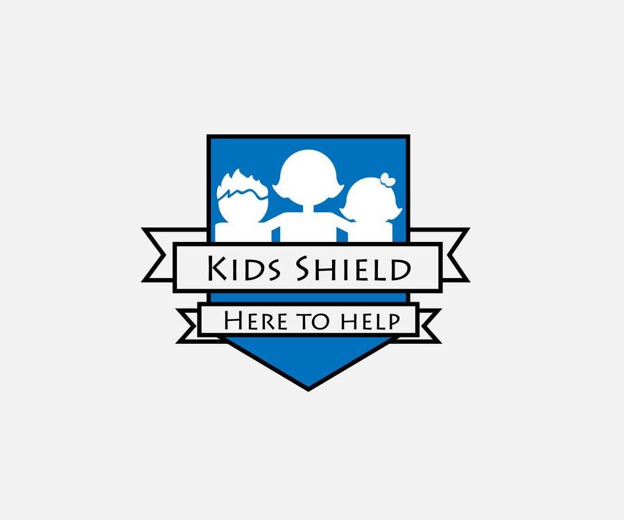 Proposition n°                                        2                                      du concours                                         Σχεδιάστε ένα Λογότυπο for Kids Shield