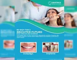 nº 79 pour diseño flyer clínica dental par mamundft