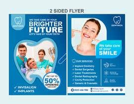nº 68 pour diseño flyer clínica dental par Shubash1994