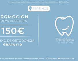 #33 for Tarjeta regalo de estudio de ortodoncia by TobiOros