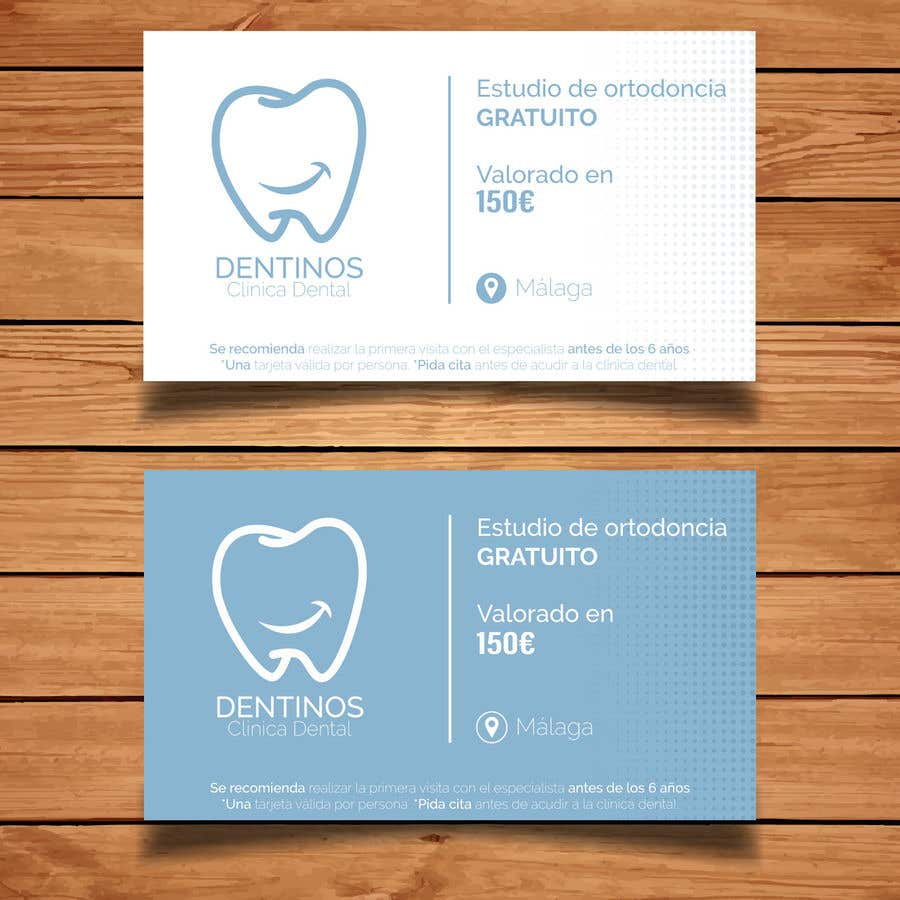Konkurrenceindlæg #                                        56                                      for                                         Tarjeta regalo de estudio de ortodoncia