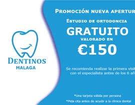 #57 for Tarjeta regalo de estudio de ortodoncia by teresatorres1