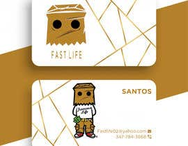 #143 untuk Fast life business cards oleh Enayeth2552