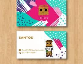 #144 untuk Fast life business cards oleh Enayeth2552