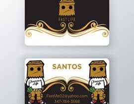 #145 untuk Fast life business cards oleh Enayeth2552