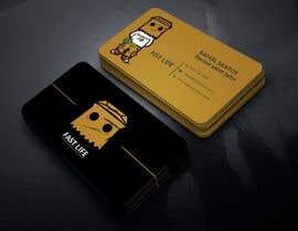 #149 untuk Fast life business cards oleh khondokeratick