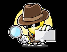 "#36 untuk Cartoon Character of a ""Light Bulb Detective"" oleh MyPrints"