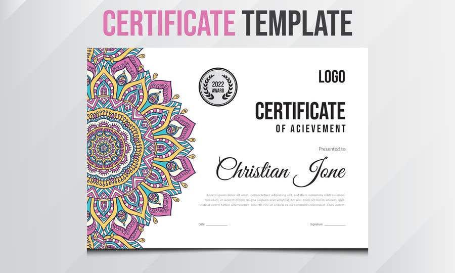 Konkurrenceindlæg #                                        40                                      for                                         Design 2 Certificates & 1 Marksheet format (for both Digital Certification & Hard Copy)