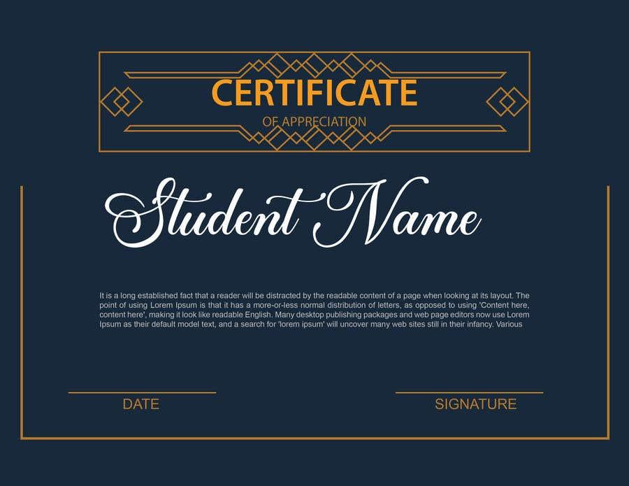 Konkurrenceindlæg #                                        10                                      for                                         Design 2 Certificates & 1 Marksheet format (for both Digital Certification & Hard Copy)