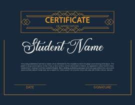 #10 for Design 2 Certificates & 1 Marksheet format (for both Digital Certification & Hard Copy) af sumayakhatun