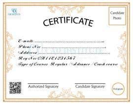 #8 for Design 2 Certificates & 1 Marksheet format (for both Digital Certification & Hard Copy) af akazad501