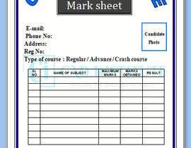 #9 for Design 2 Certificates & 1 Marksheet format (for both Digital Certification & Hard Copy) af akazad501