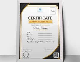 #24 for Design 2 Certificates & 1 Marksheet format (for both Digital Certification & Hard Copy) af rumonhossain0062
