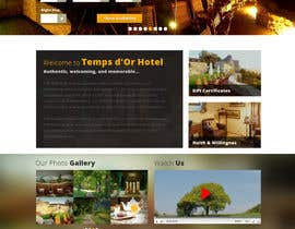 faizalmohamed88 tarafından Design a Website Mockup for Temps d'Or için no 30
