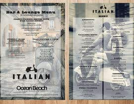 leomacatangay9 tarafından Create an attractive menu design for Italian Cafe (Ocean Beach Hotel and Spa için no 33