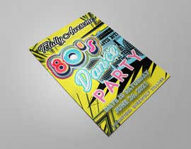 #232 for 80s  Dance Party invitation/flyer by palash66